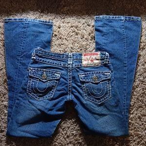 True Religion Flare Wide Legs Bell Bottom Jeans